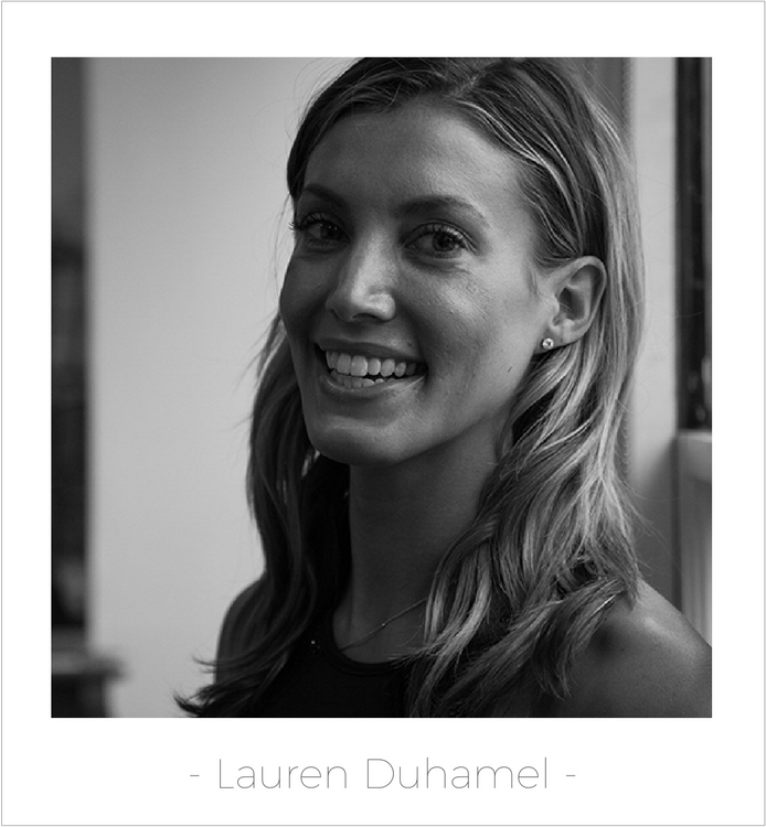 Button - Lauren Duhamel