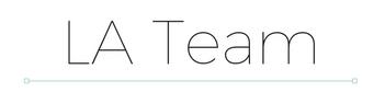 TITLE - LA Team